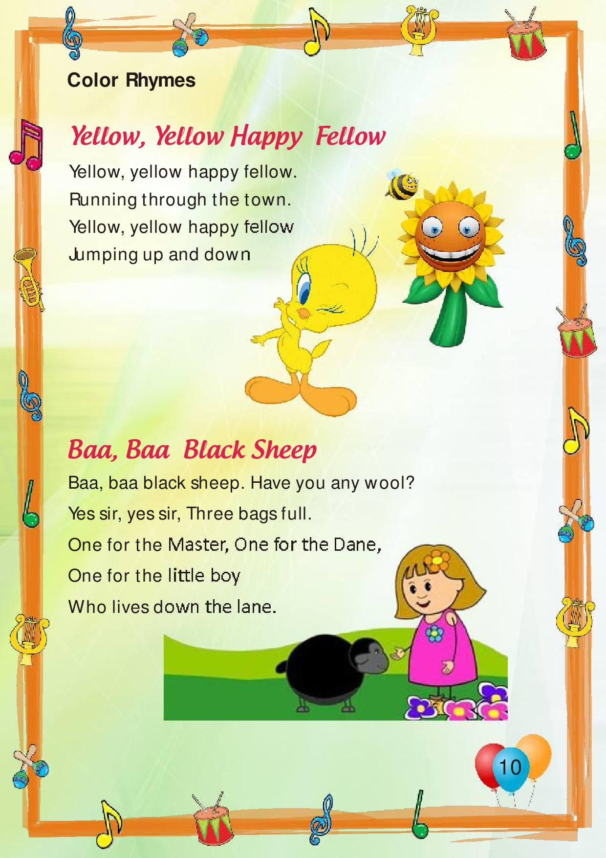 Kids Desk Calendar : Poems asis pre primary