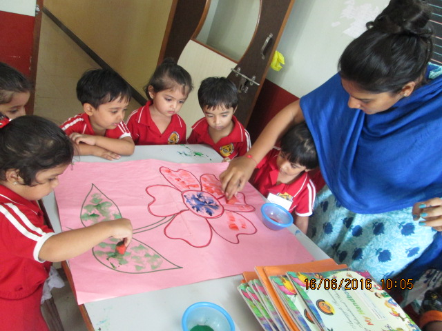 Nursery Kids Craft Activity